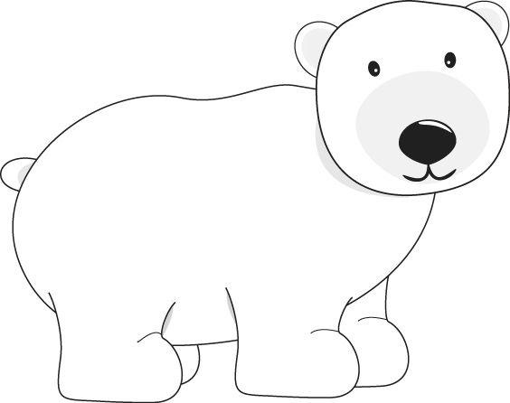 Mother And Baby Clipart Polar Bear.