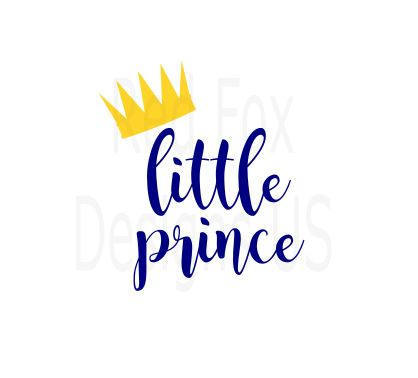Little Prince Crown Clipart.