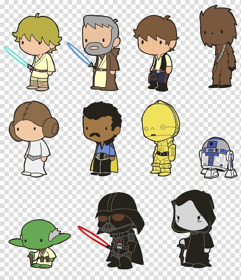 Leia Organa Han Solo Chewbacca Star Wars Boba Fett, r2d2.