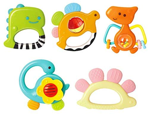 Baby Rattle Teether Toy Baby Rattle Rattle Newborn Baby Gift.