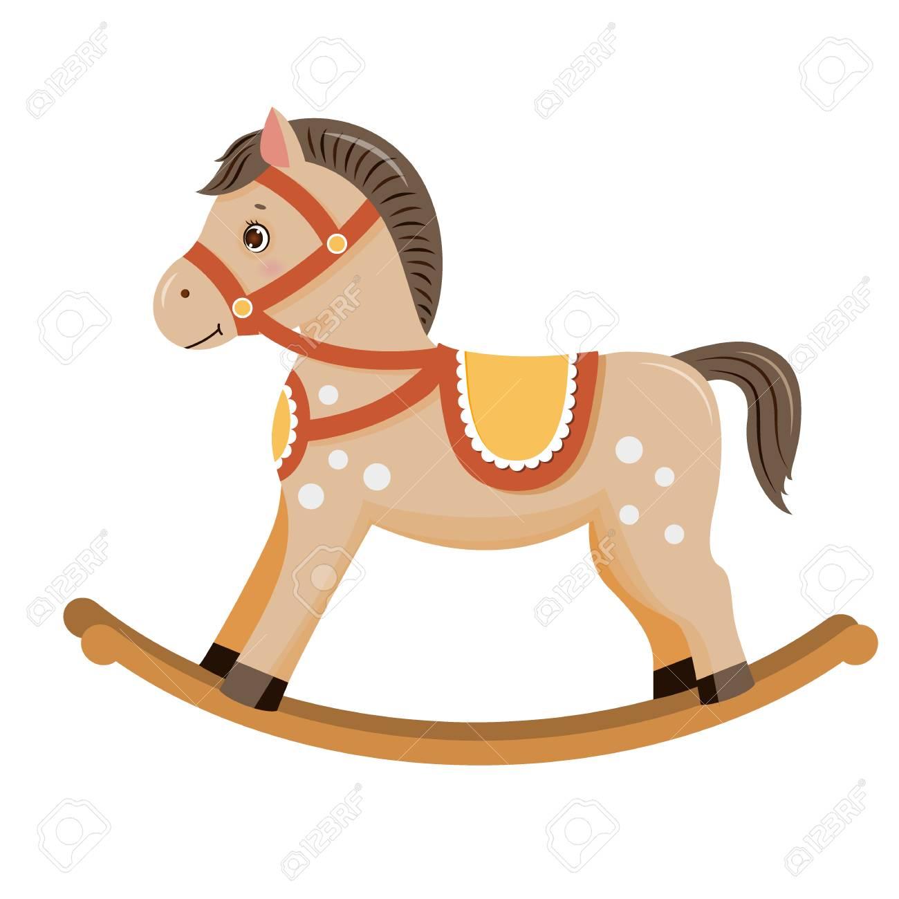 Rocking horse baby toy.