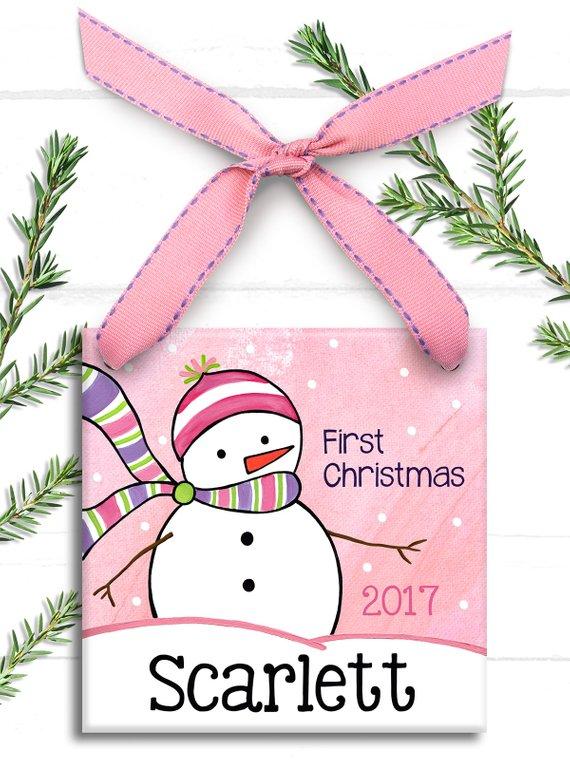 Baby Girl Ornament.