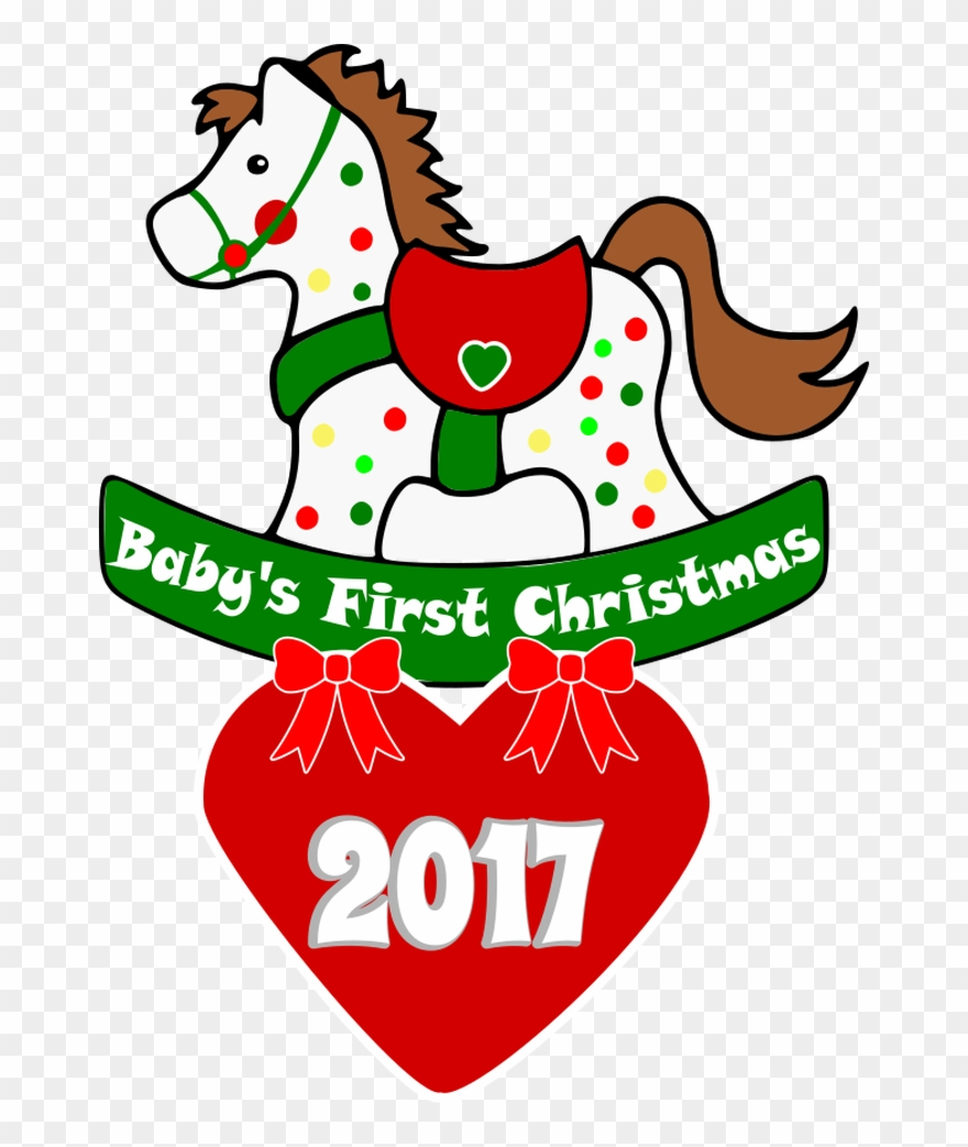 Adorable Svg Perfect For A Baby\'s First Christmas Ornament.