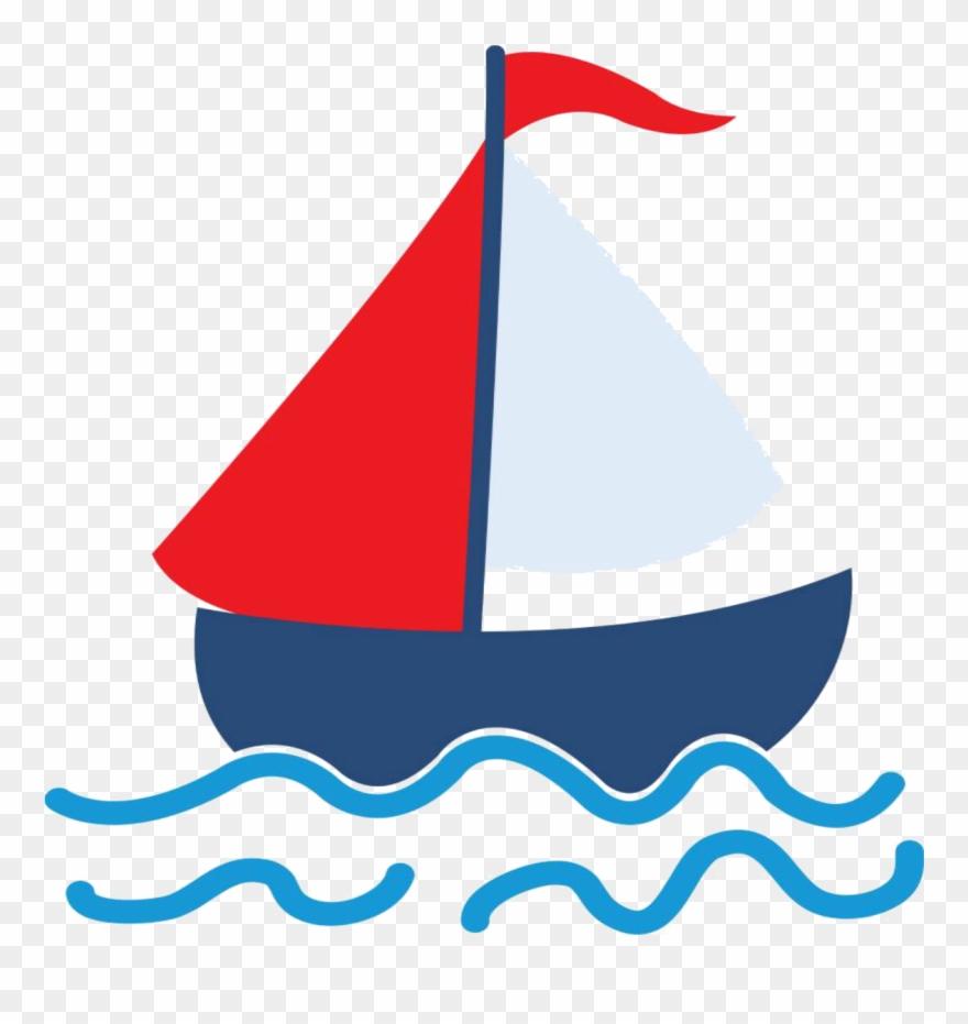 Sailing Ship Clipart Baby Boy.