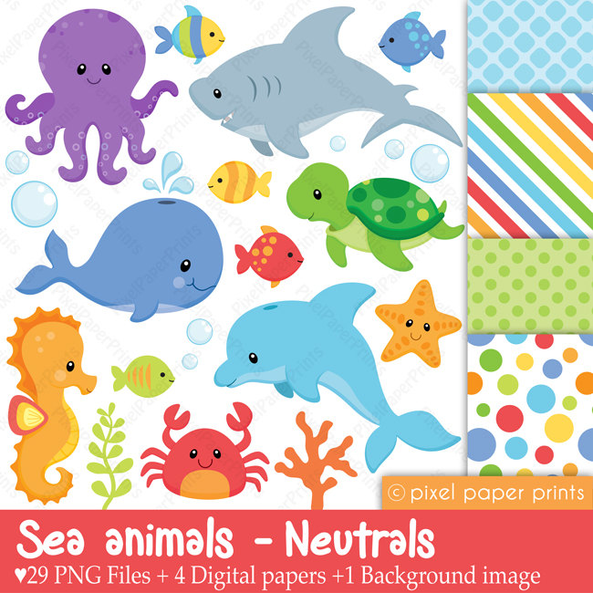 Free Cliparts Sea Creatures, Download Free Clip Art, Free.
