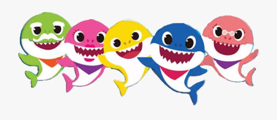 Baby Shark Clipart Transparent Background.