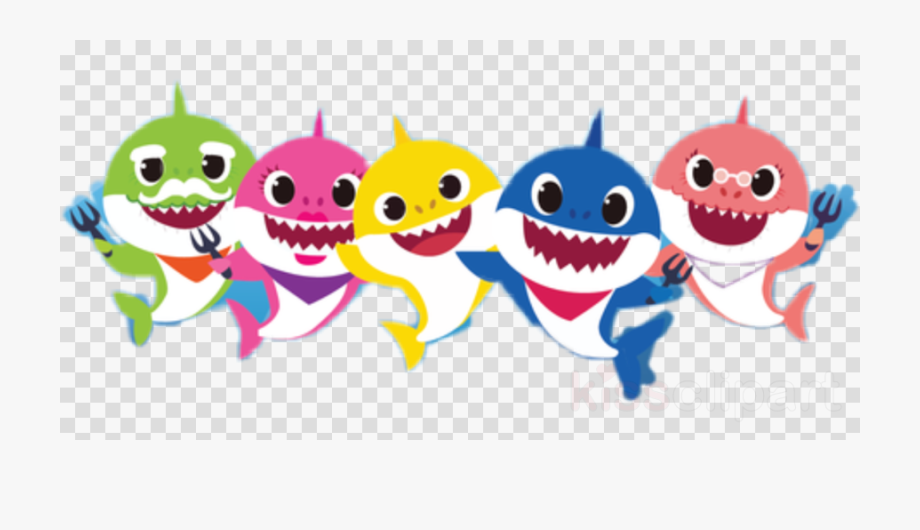 Baby Shark Clipart Pinkfong.