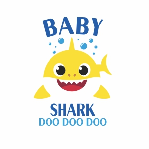Baby Shark Doo Doo Doo svg cut.