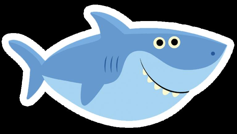 FREE Printable Baby Shark Pinkfong Birthday Invitation.