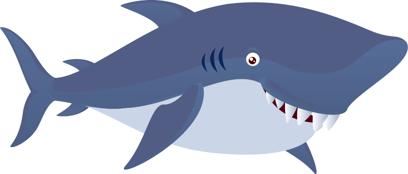 Free to Use & Public Domain Shark Clip Art.