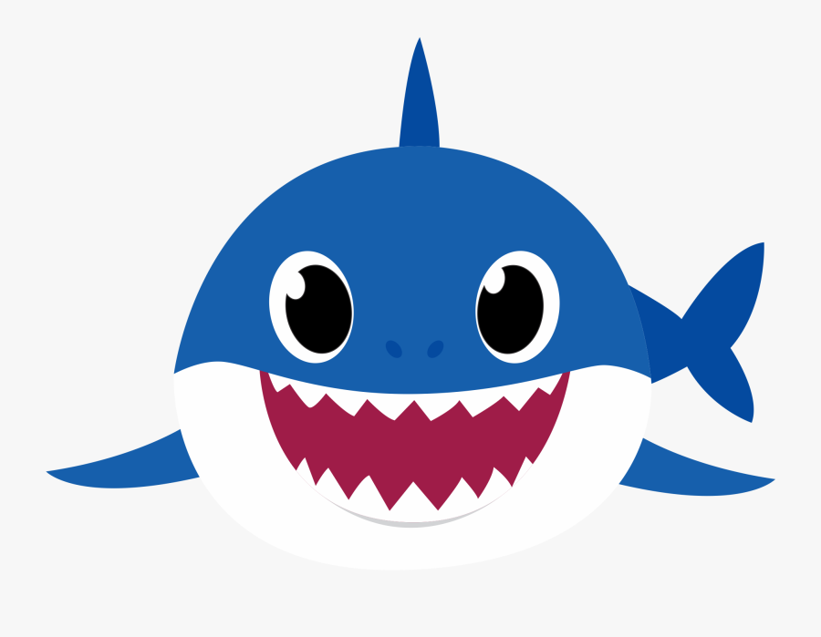 Baby Shark Azul Png , Free Transparent Clipart.