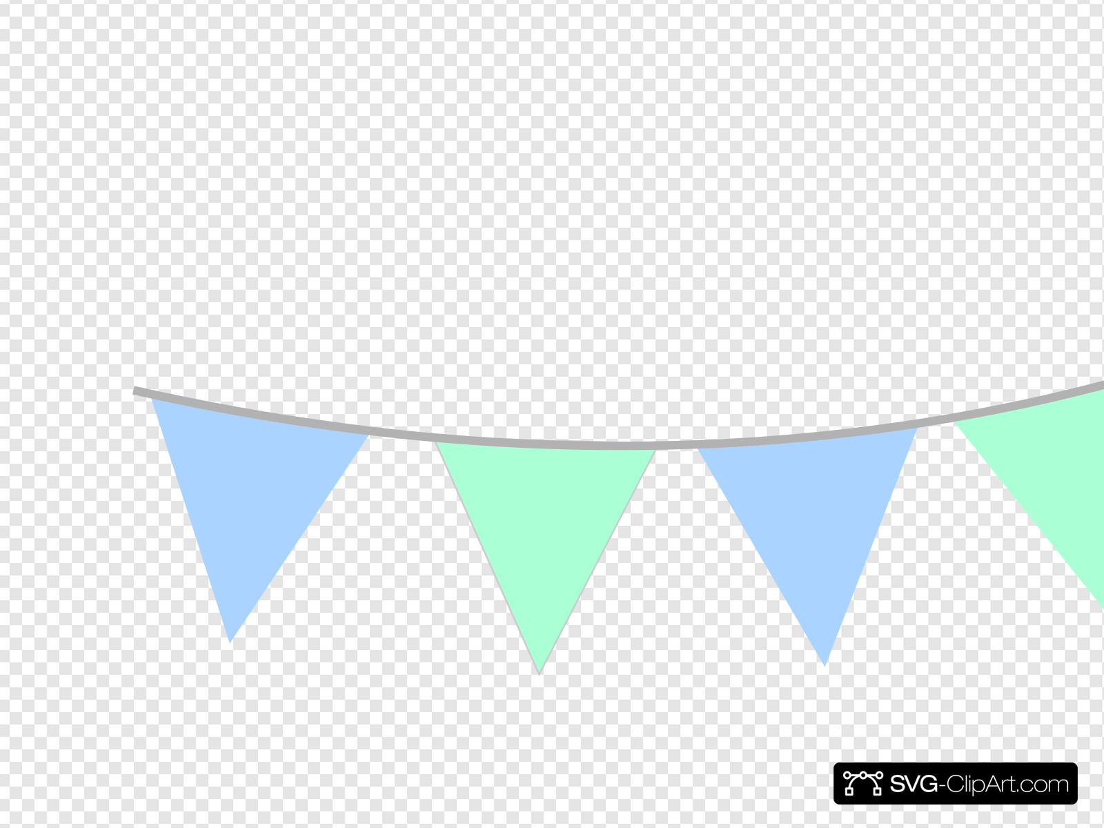 Baby Shower Banner Clip art, Icon and SVG.