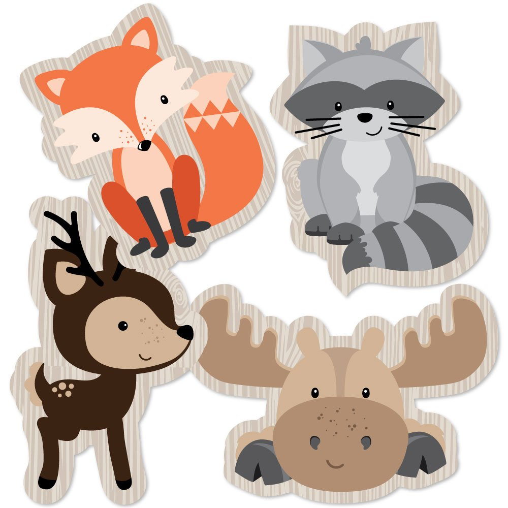 Details about Woodland Creatures.