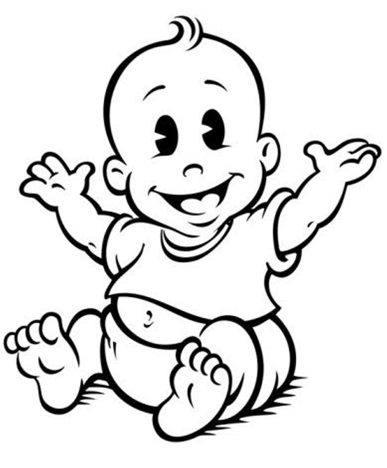 its baby shower clip art.