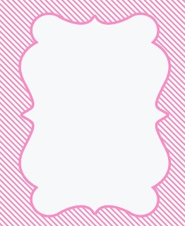 Baby Shower Border Paper.