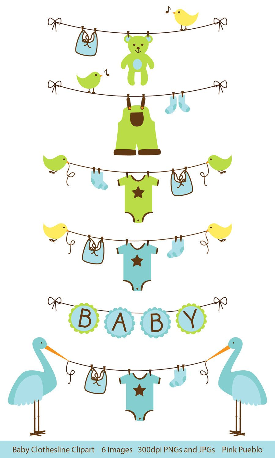 clipart free baby shower.