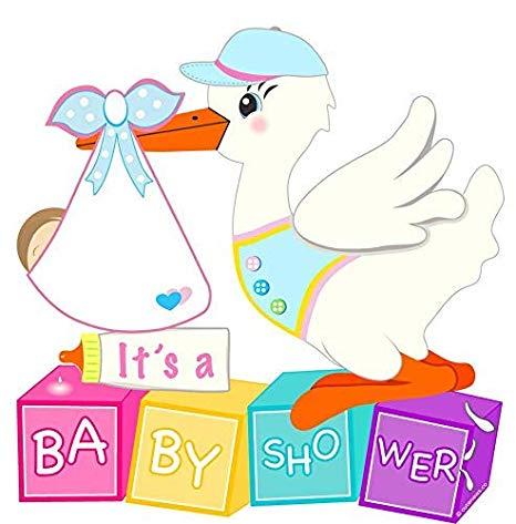 Amazon.com : Cute News Stork Baby Shower Sign.