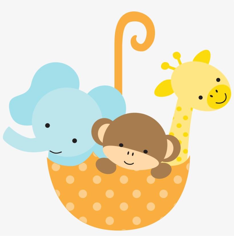 Safari Baby Shower Clipart.