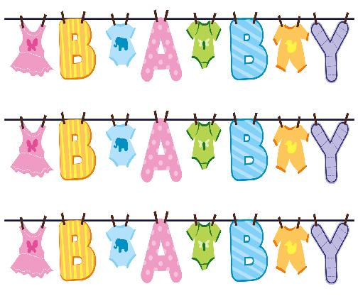 Pix For Baby Shower Borders.