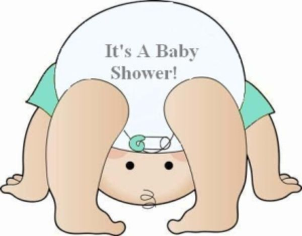 Boy Baby Shower Diapers Clipart.