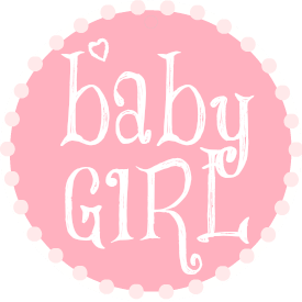 Free Girl Baby Shower Clipart.
