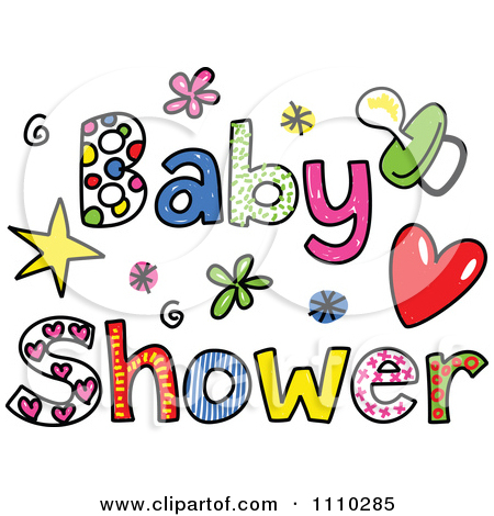 Free Baby Shower Clipart.