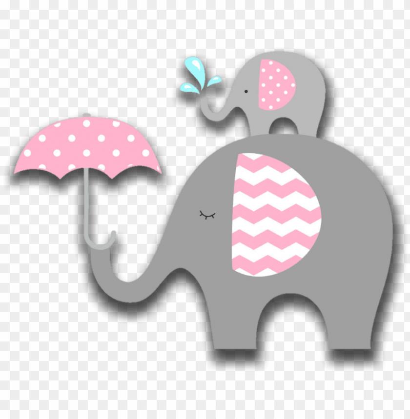 pink #elephant #animals #babyshower #baby #decoration.
