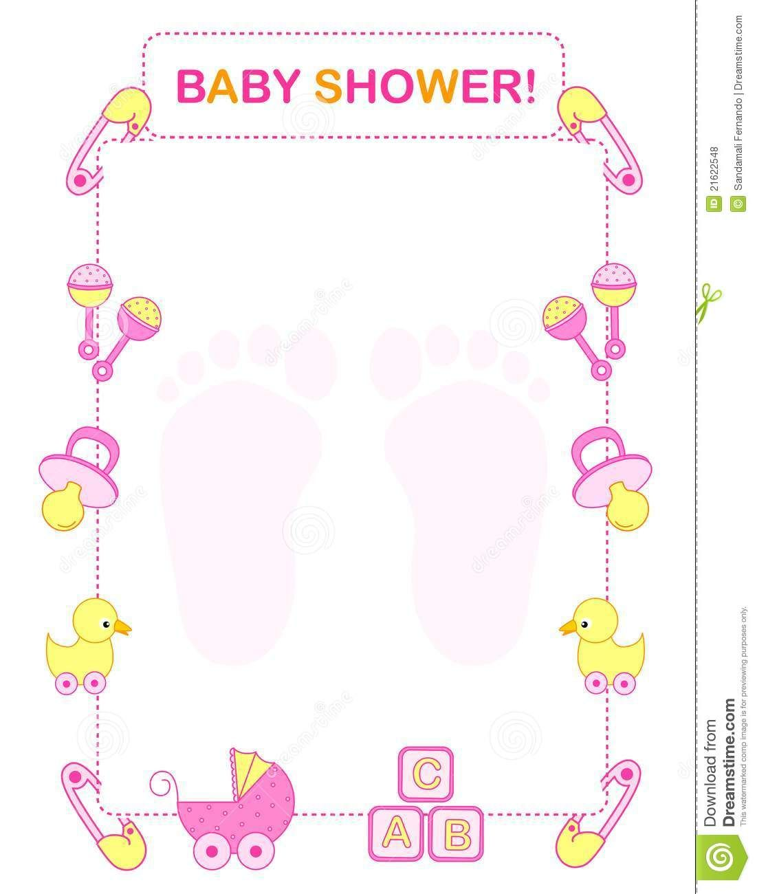 Free Printable Baby Shower Clip Art (59 ) in 2019.