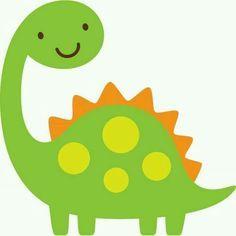 Dinosaur Clipart cute 1.