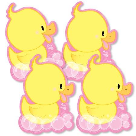 Pink Ducky Duck.