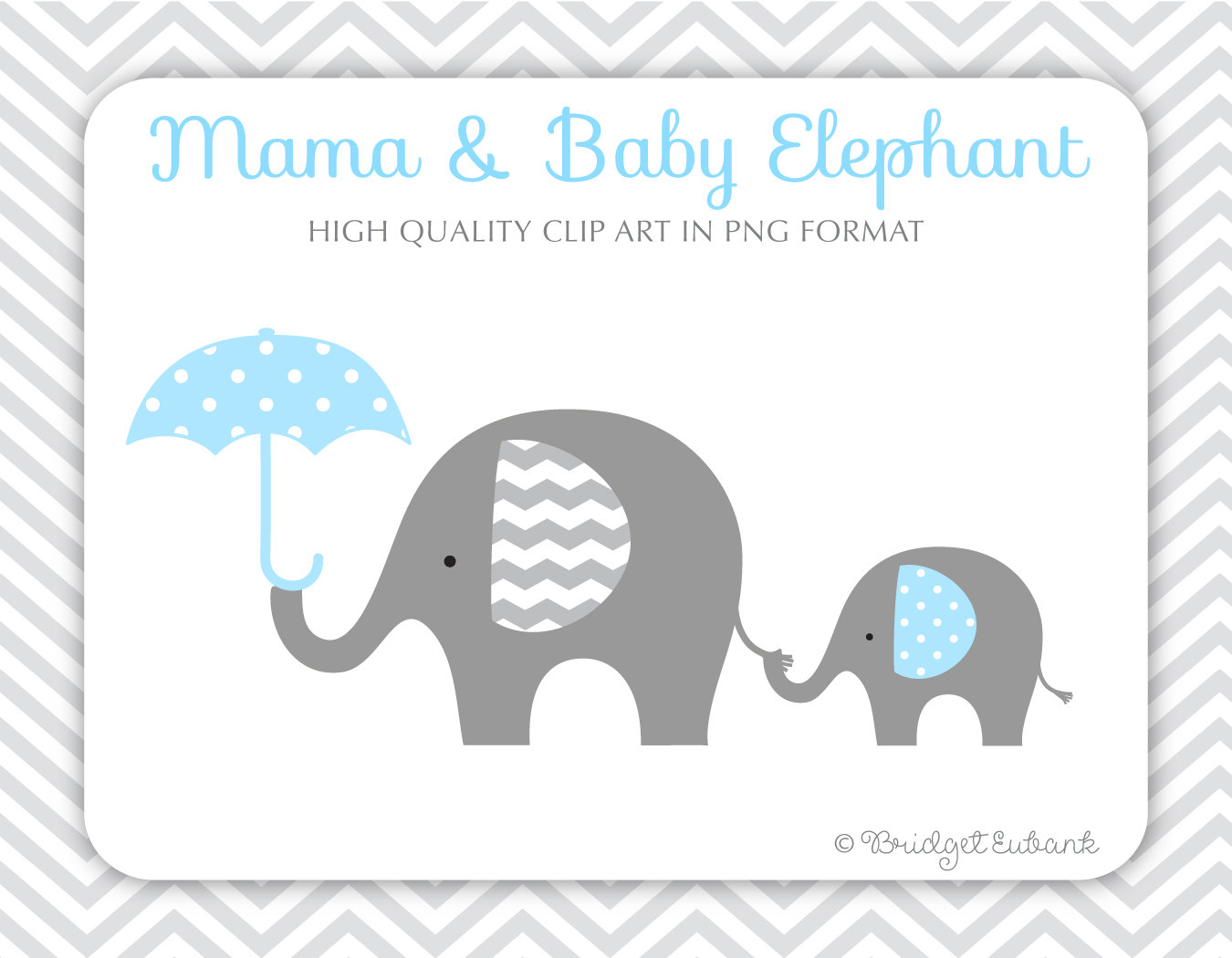 Baby Elephant Clipart Baby Shower.