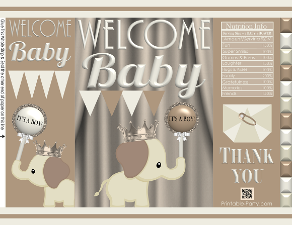 Baby Shower Gift Bags.