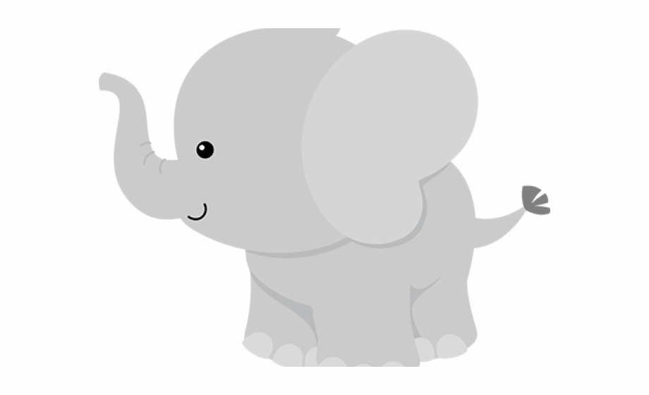 Elephant Clipart Baby Shower.