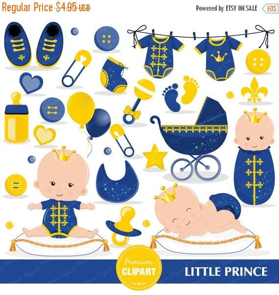 6455 Baby Shower free clipart.