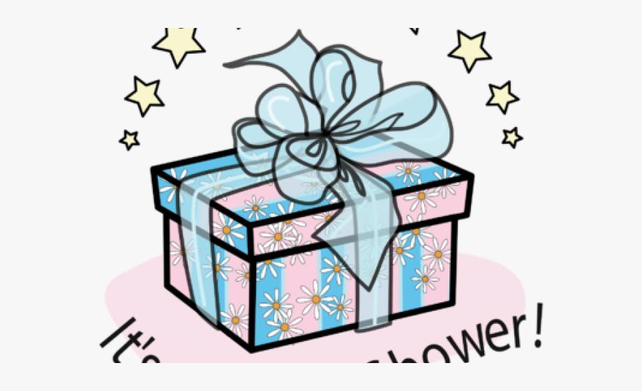 Gift Clipart Baby Shower Gift.