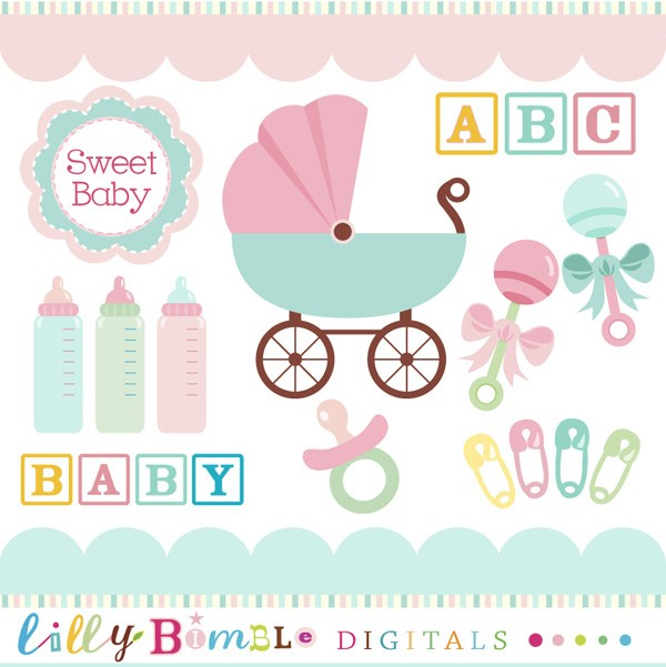 Baby shower clipart free 7 » Clipart Station.