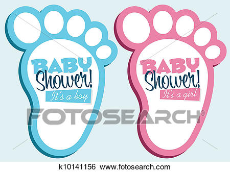 Baby Shower Invitations Clip Art.