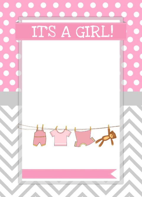 Baby Girl Shower Free Printables.