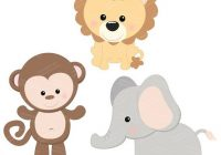 Baby Shower Jungle Animal Clipart Free Images At Clker Com Awesome.