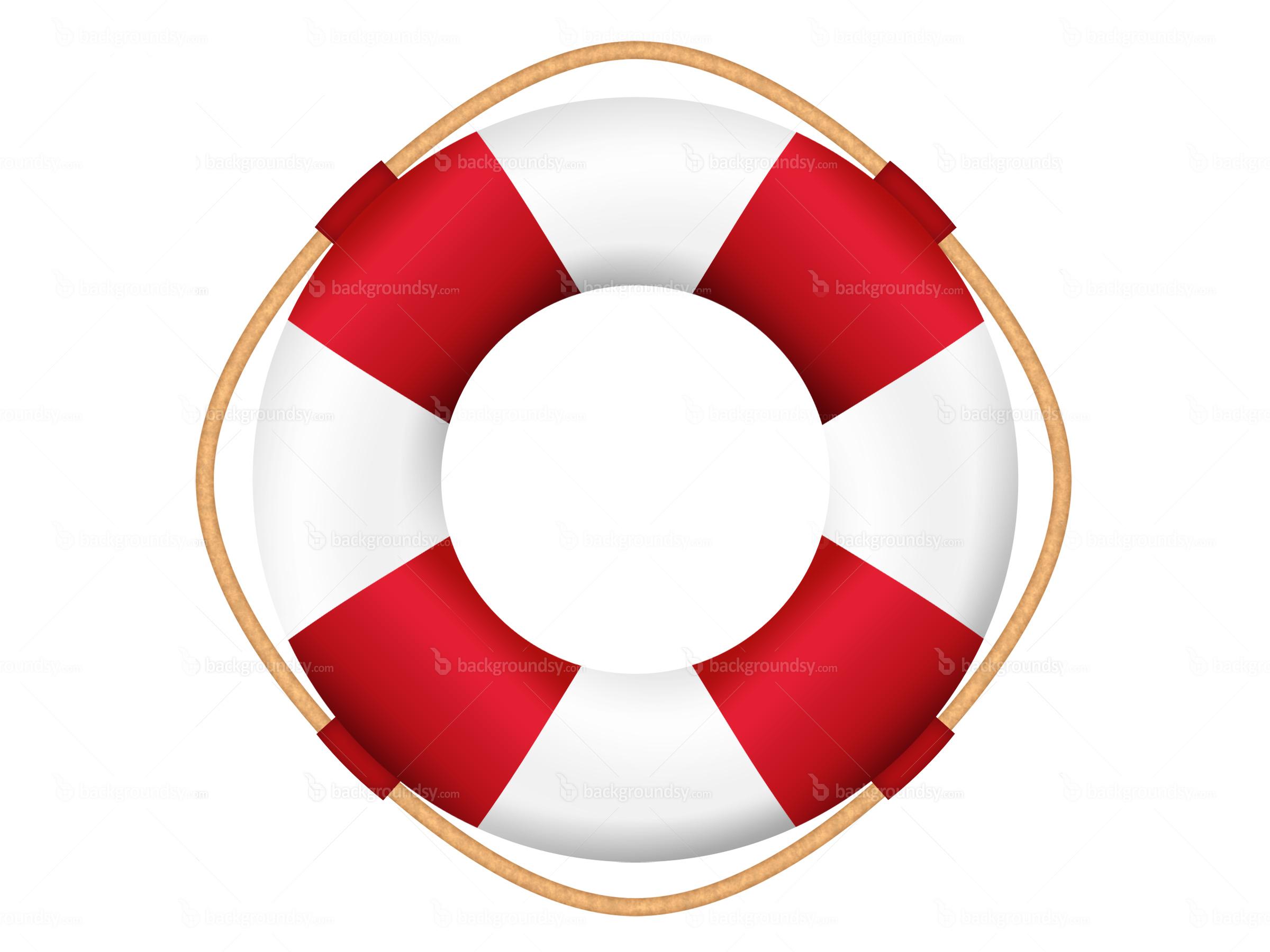 Nautical Lifesaver Clip Art.