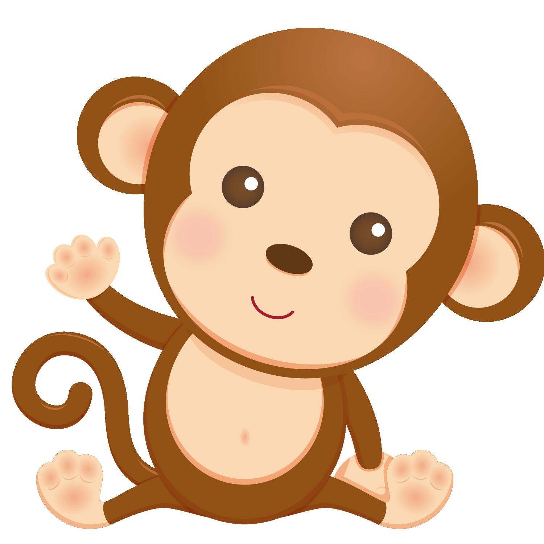 Monkeys clipart baby shower, Monkeys baby shower Transparent FREE.