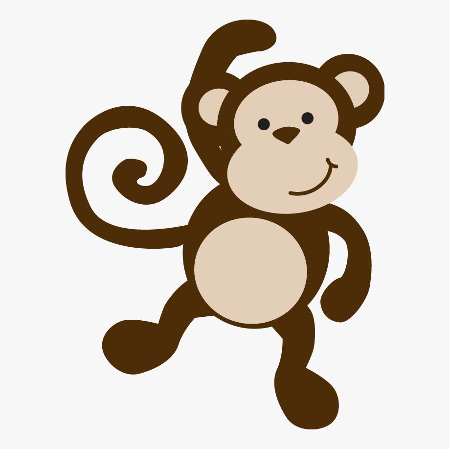 Monkeys Clipart Template.