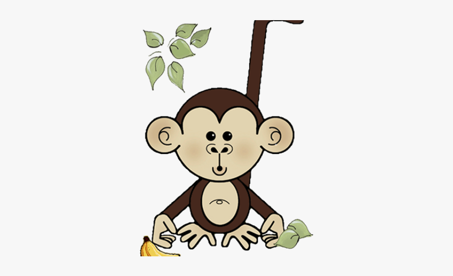 Baby Shower Monkey Clip Art #2187926.