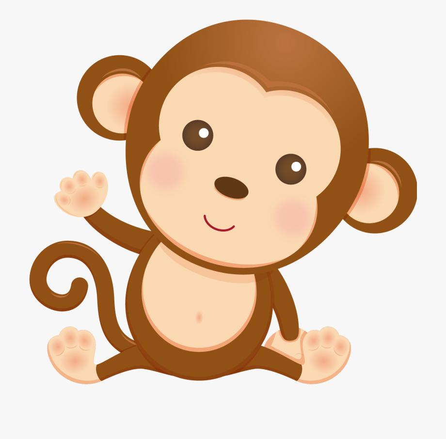 Monkeys Clipart Baby Shower.