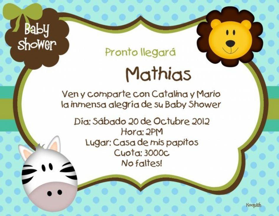 Charming De Baby Shower Ni O.