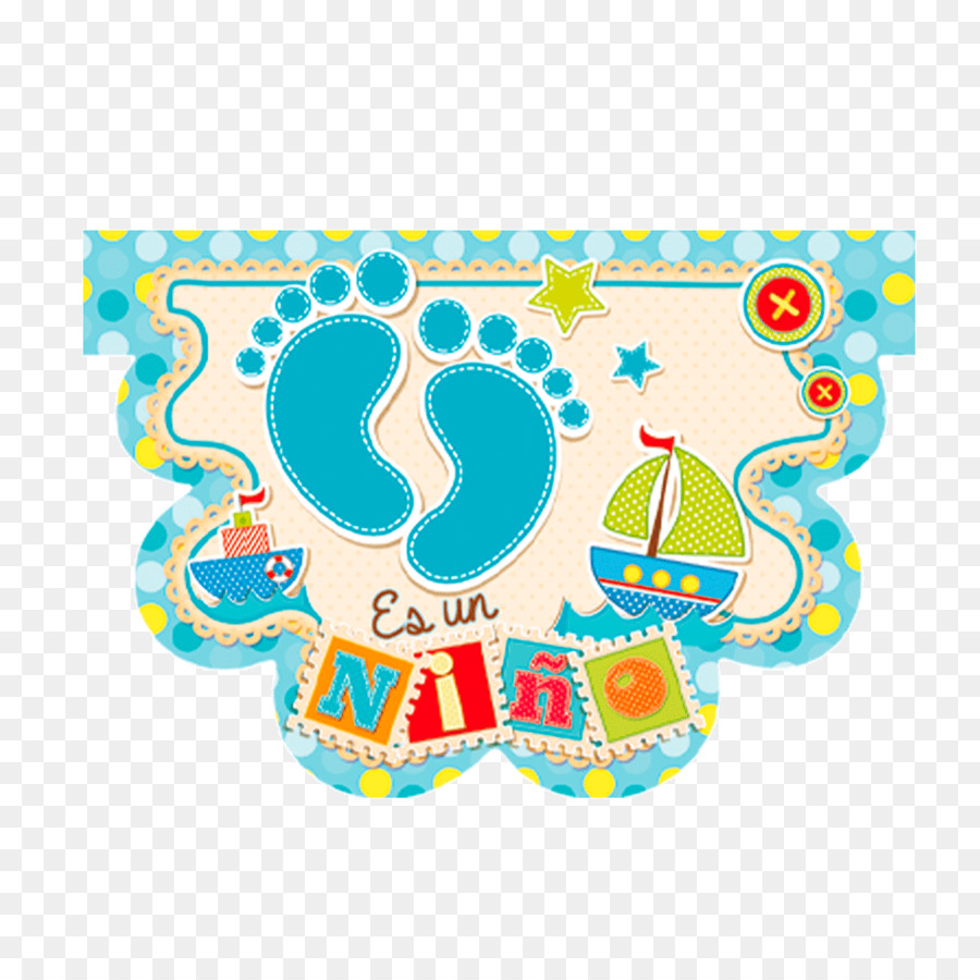 Baby Shower Turquoise png download.