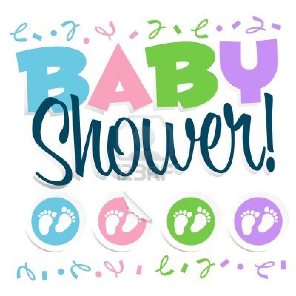 9+ Free Clipart Baby Shower.