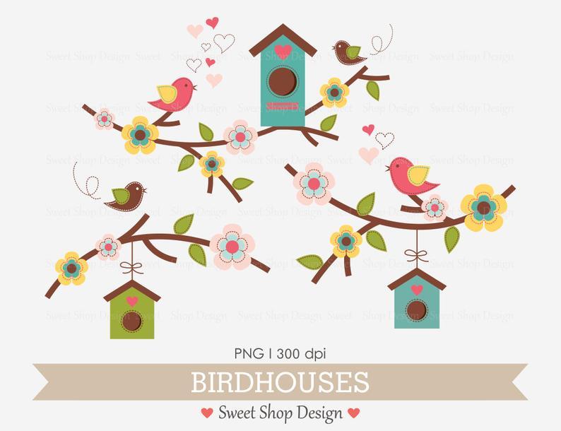 Baby Shower Clip Art, Bird Clip Art, Baby Clip Art, Royalty Free Clip Art,  N01, Instant Download.
