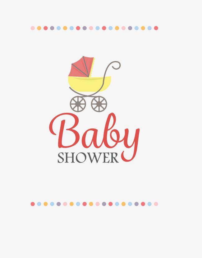 Cartoon Stroller, Cartoon Clipart, Baby, Shower PNG Transparent.