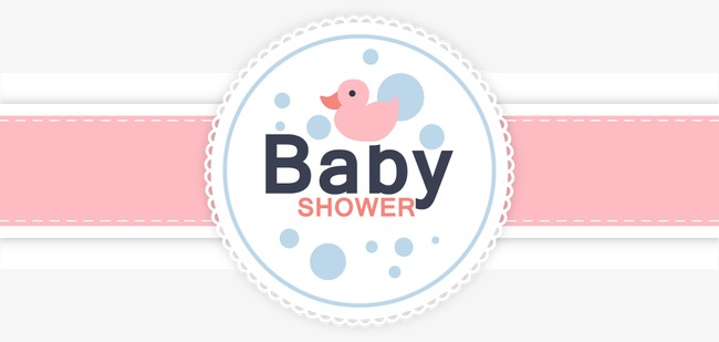 Download Free png Vector baby shower card, Baby.